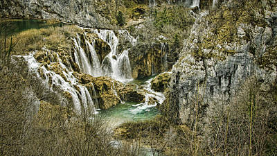 Photograph - Plitvice Lakes by Heather Applegate