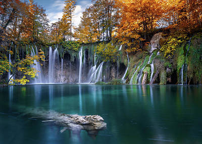 Photograph - Plitvice Lakes II by Fred Gramoso