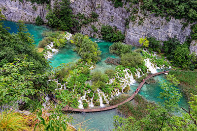 Photograph - Plitvice Lakes National Park by Mark Whitt