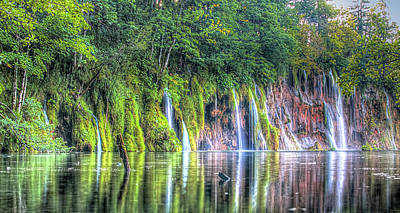 Photograph - Plitvice Lakes by Peter Kennett