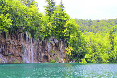 Photograph - Plitvice National Park In Croatia by Brandon Bourdages