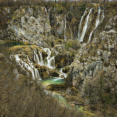 Photograph - Plitvice Waterfalls by Heather Applegate
