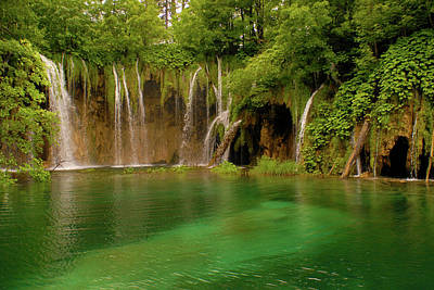 Photograph - Plitvice Waterfalls by Don Wolf