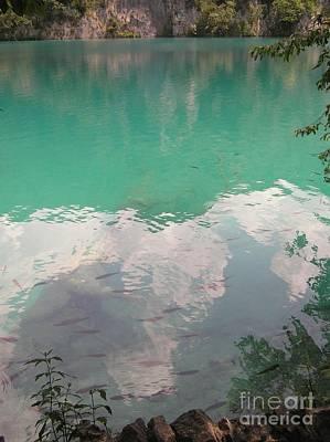Photograph - Plitvicelake02 by Mary Kobet