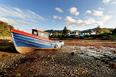 Glen Photograph - Plockton by Smart Aviation