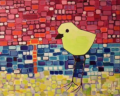 Painting - Plover by Donna Howard