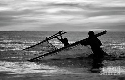 Photograph - Plowing The Sea - Thailand by Craig Lovell