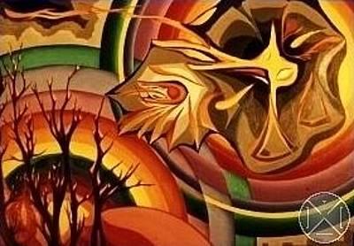 Painting - Pluies Acides by Max D Jacob