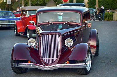 Photograph - Plum 34 Coupe by Bill Dutting
