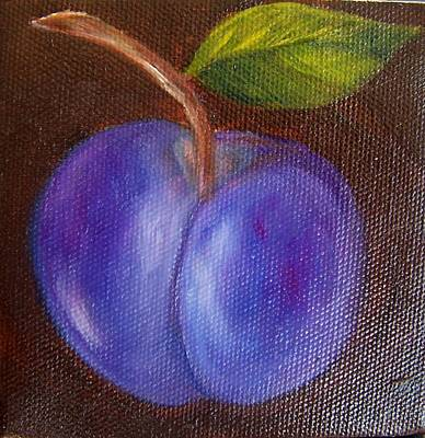 Painting - Plum 9 by Susan Dehlinger
