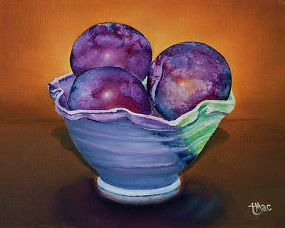 Painting - Plum Assignment by Terry R MacDonald