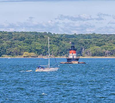 Photograph - Plum Beach Lighthouse by Brian MacLean