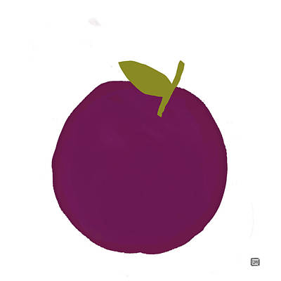 Painting - Plum I by Lisa Weedn