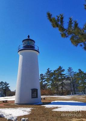 Photograph - Plum Island Lighthouse by Mary Capriole