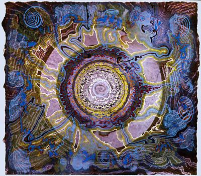 Plum Spire Art Print by Tom Hefko