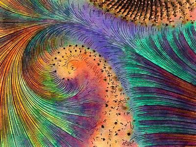 Digital Art - Plumage by Susan Maxwell Schmidt