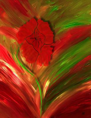 Painting - Plume Of Remembrance by Barbara St Jean