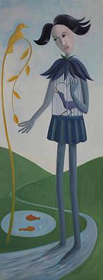 Painting - Plume by Tone Aanderaa