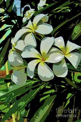 Photograph - Plumeria by Craig Wood