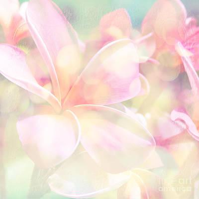 Photograph - Plumeria Pink Parfait by Sharon Mau