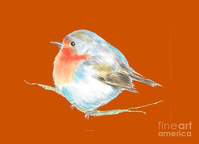 Plump Is Good  Art Print by Herb Strobino