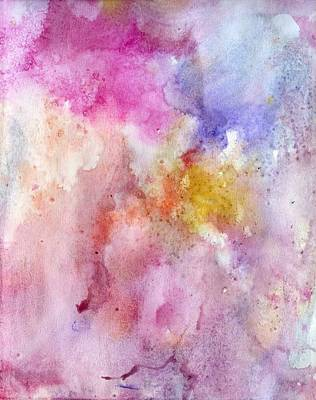 Creative Passages Painting - Plumtastic 2 by Cassandra Donnelly