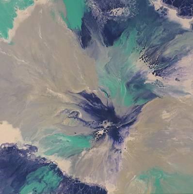 Painting - Plunge by Soraya Silvestri
