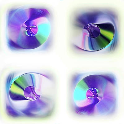 Digital Art - Plus Ou Moins Circulaires by Danica Radman