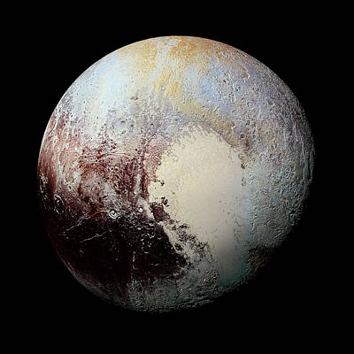 Photograph - Pluto by Weston Westmoreland