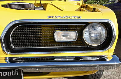 Photograph - Plymouth Barracuda by Linda Bianic