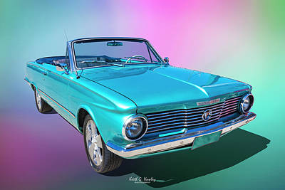 Photograph - Plymouth Convertible by Keith Hawley