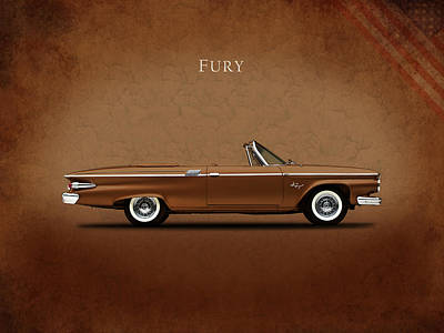 Fury Photograph - Plymouth Fury 61 by Mark Rogan