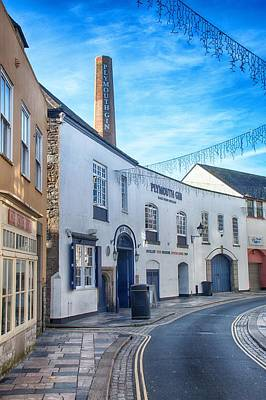 Photograph - Plymouth Gin Distillery by Chris Day