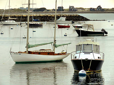 Photograph - Plymouth Harbor October  by Janice Drew
