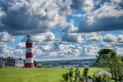 Photograph - Plymouth Hoe And Smeatons Tower by Chris Day