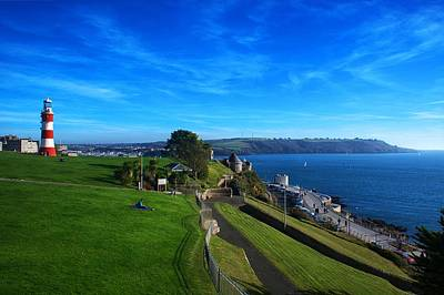 Photograph - Plymouth Hoe And Sound by Chris Day