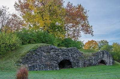 Photograph - Plymouth Meeting - Ancient Lime Kiln by Bill Cannon