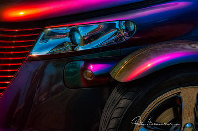 Photograph - Plymouth Prowler 6063 by Dan Beauvais