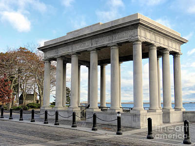 Photograph - Plymouth Rock Canopy In November by Janice Drew