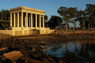 Photograph - Plymouth Rock by Juergen Roth