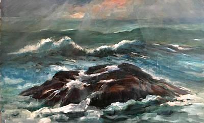 Plymouth Rock, Massachusetts Original by Hall Groat Sr