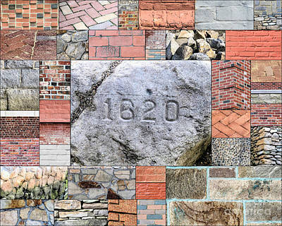 Photograph - Plymouth Rocks And Bricks by Janice Drew