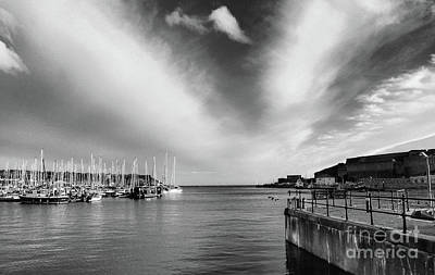 Photograph - Plymouth Sound Marina by Lynn Bolt
