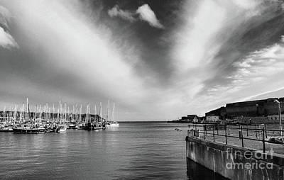 Photograph - Plymouth Sound Marina by Lynn Bolt