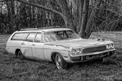 Photograph - Plymouth Wagon by Victor Montgomery