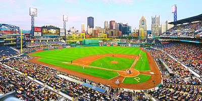 Photograph - Pnc Park 2014 Day Game by C H Apperson