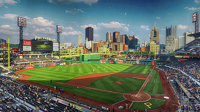 Photograph - Pnc Park Almost Game Time by C H Apperson
