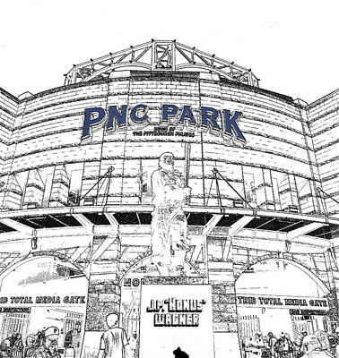 Photograph - Pnc Park Home Plate Entrance by C H Apperson