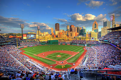 Pnc Park Art Print by Shawn Everhart