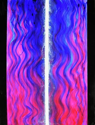 Pneuma Flow Art Print by Tom Hefko